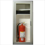 ROYAL 3600 SERIES - BLANKET & EXTINGUISHER COMBINATION CABINET